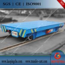 供應冶煉設備軌道搬運車制造商電動平板車防爆圖片