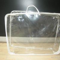 供应纺布袋子人造革袋子透明包边袋服装