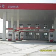 襄阳随州荆州加油站钢结构工程图片