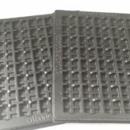 苏州太仓超雅黑色PET打孔吸塑盒图片