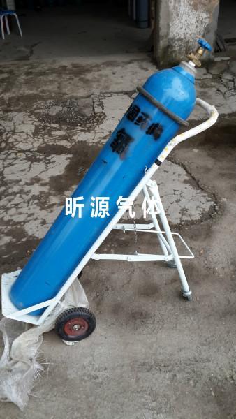成都昕源供应用于气瓶运输的单罐气瓶推车