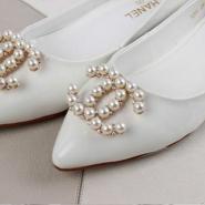 Chanel新款尖头浅口单鞋图片
