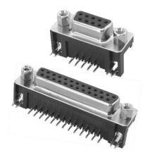 供应DR9-04超长电脑视频连接器+VD/DB/DR插座
