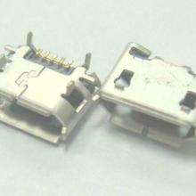 供应MICRO6脚插板USB牛角形