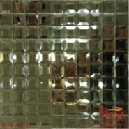 镜面玻璃马赛克瓷砖图片