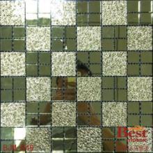 供应镜面玻璃马赛克厂家豪宅装饰电视背景墙