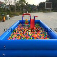 供应户外儿童充气沙滩池充气池子