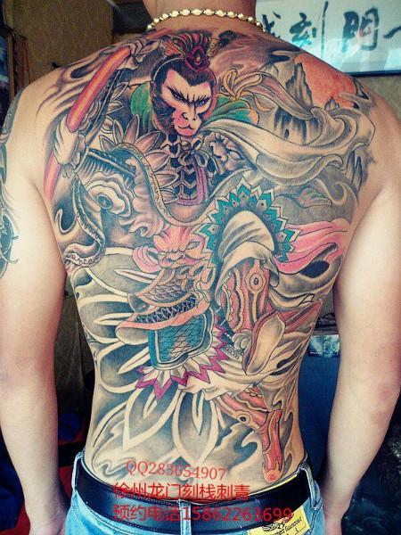 纹身_纹身供货商_供应满背纹身
