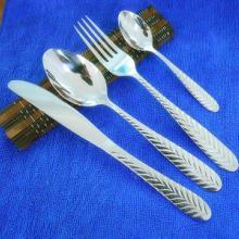 供应揭阳不锈钢餐具 牛排刀叉 水果勺 咖啡勺 不锈钢大勺