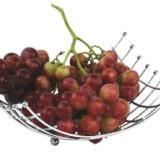 供应多功能不锈钢置物篮 家居摆饰工艺品铁线水果篮