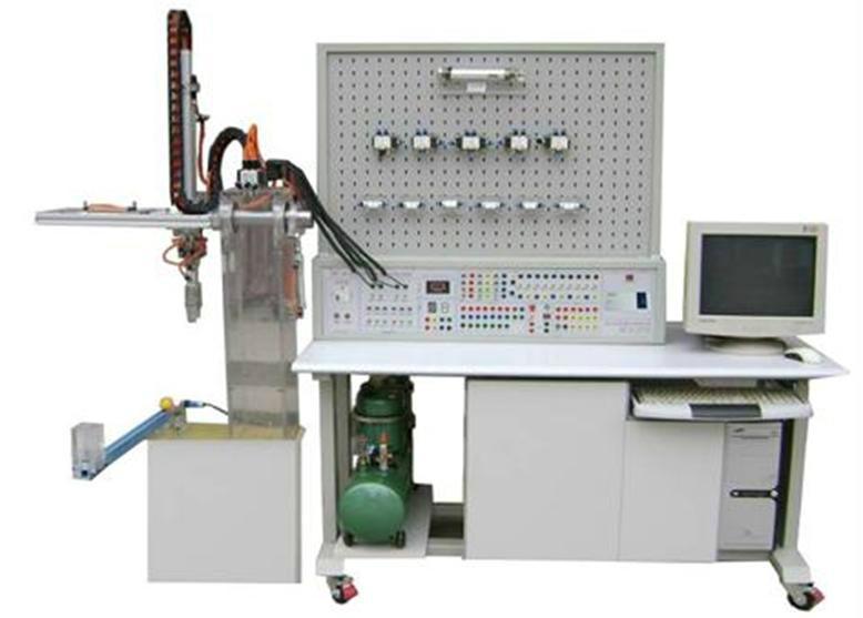 fcqk-07a型机械手plc控制传动实训系统透明液压实训台图片