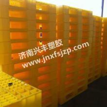 供应外企专用全新PE料黄色塑料托盘红色托盘
