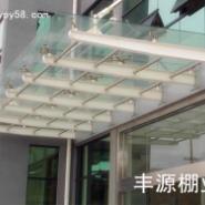 广州钢化玻璃雨棚效果图图片
