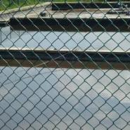 水产养殖基地隔离勾花网图片