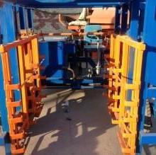 供应水泥砌块制砖机双排十板电动运砖车图片