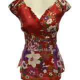 供应泰国绣珠泡泡短袖 西藏服装批发 广州服装批发