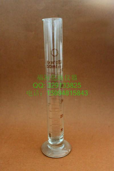 玻璃量筒100ML 实验量筒 实验用 玻璃量筒 各种规格玻璃仪器