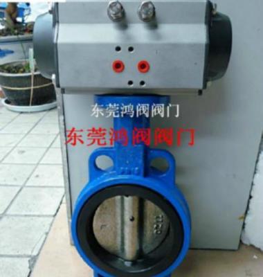 气动铸铁蝶阀图片/气动铸铁蝶阀样板图 (1)