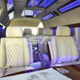 供应丰田海狮商务改装座椅改装房车 吧台设计汽车内饰个性化定制设计