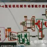 供应XY-4型钻机机械传动系统示教板—长沙维创科技模型有限公司