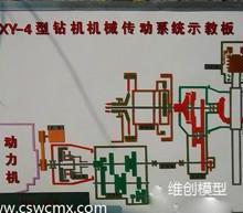 供应XY-4型钻机机械传动系统示教板—长沙维创科技模型有限公司图片