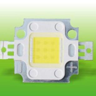 10w晶元集成正白光led灯珠价格图片