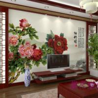 供应南昌彩绘格林彩绘高端背景墙彩绘壁画文化墙18070038919