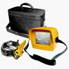 供应运动休闲水下视频垂钓用品黑白水下钓鱼监视器配20米线摄像机 .图片
