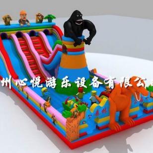 2014最新款黑猩猩金刚攀岩大滑梯图片