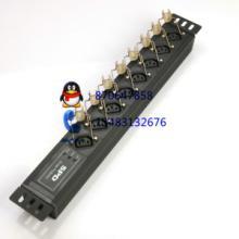 PDU电源插座型号XH-1U-M8-F16A入口10A出1U批发
