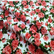 供应丝光棉印花布厂家订做 丝光棉印花面料