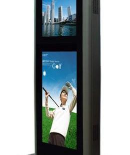 65寸分屏广告机丨多屏户外数字标牌图片