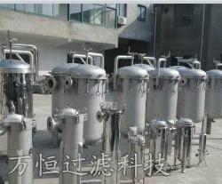 供應鄭州萬恒大流量多袋式過濾器