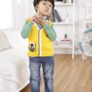 童装春款男童针织衫针织开衫童图片