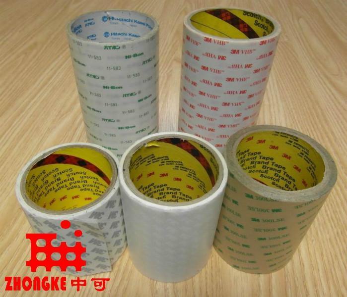 供应杭州3M双面胶 LED双面胶材料 LED双面胶制品