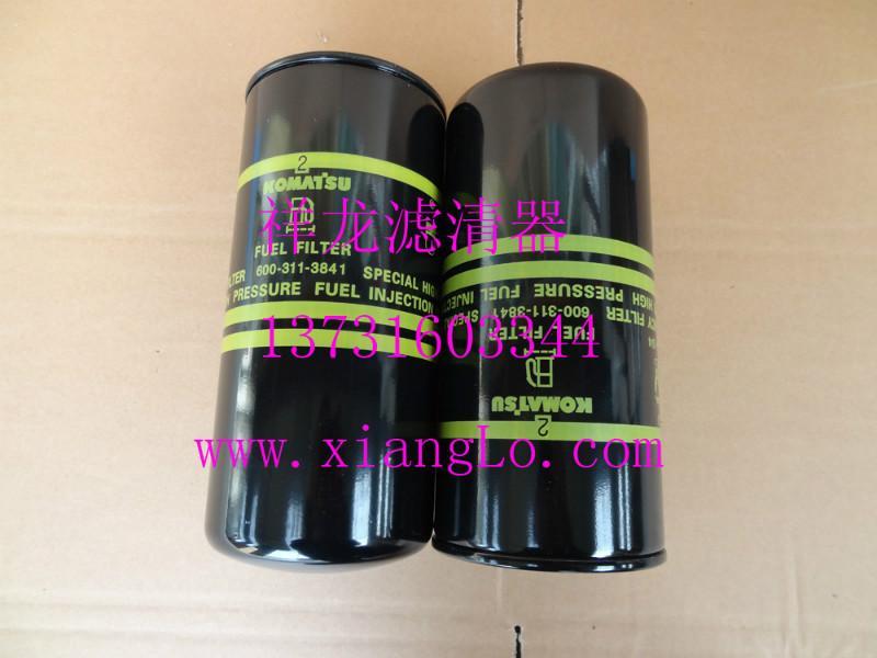 小松挖掘机600-311-3841柴滤厂家销售