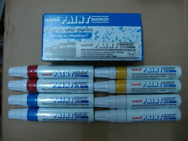 供应特粗记号笔三菱油漆笔PX-30