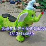 供应公园电动动物玩具车/.遥控毛绒玩具车