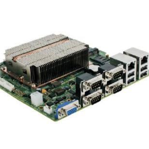 MINI-ITX主板D2550图片
