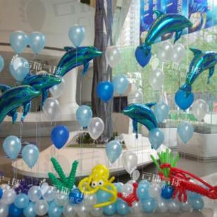 宝宝宴签到/气球签到台/气球装饰图片