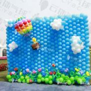 热气球环游记/热气球背景图片