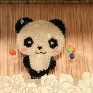 熊猫主题宝宝宴/气球装饰布置图片