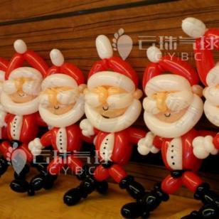 圣诞节汽车装饰/4S店气球装饰图片