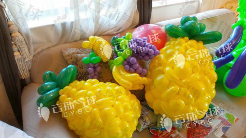 供应水果造型气球/楼盘装饰/气球装饰