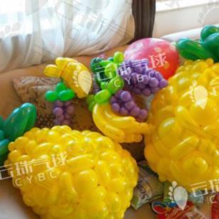 水果造型气球/楼盘装饰/气球装饰图片
