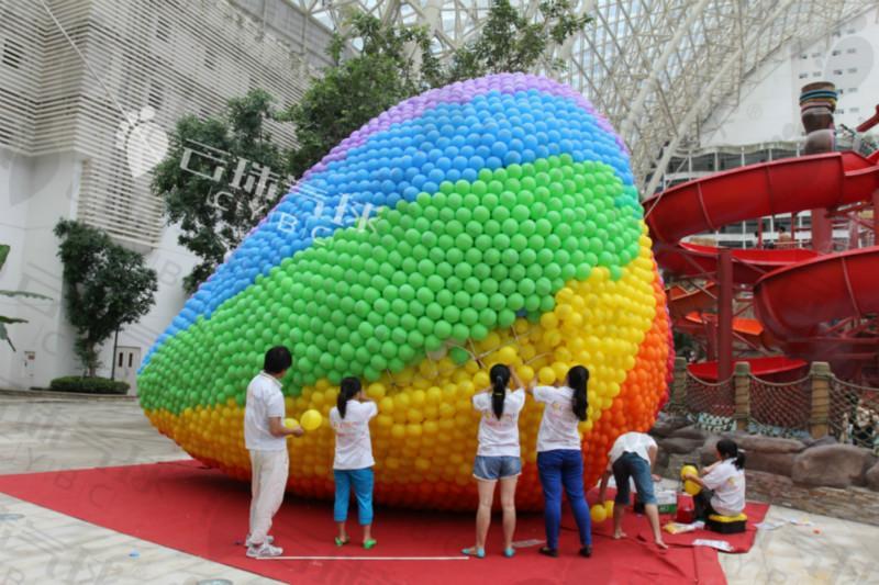 供应大型气球装饰活动/商场气球装饰/热气球气球/创意气球/气球造型