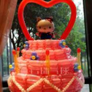 气球蛋糕/卡通气球/造型气球图片