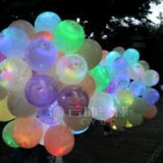 花瓣球波点夜光球图片