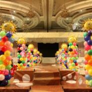 新会展中心洲际酒店宝宝宴气球图片