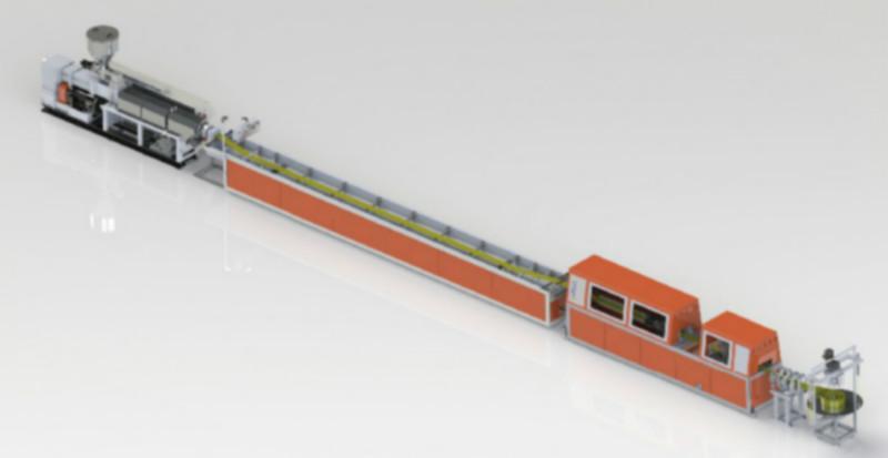 金韦尔PVC止水带生产线设备